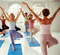 Yoga Class Tree Pose